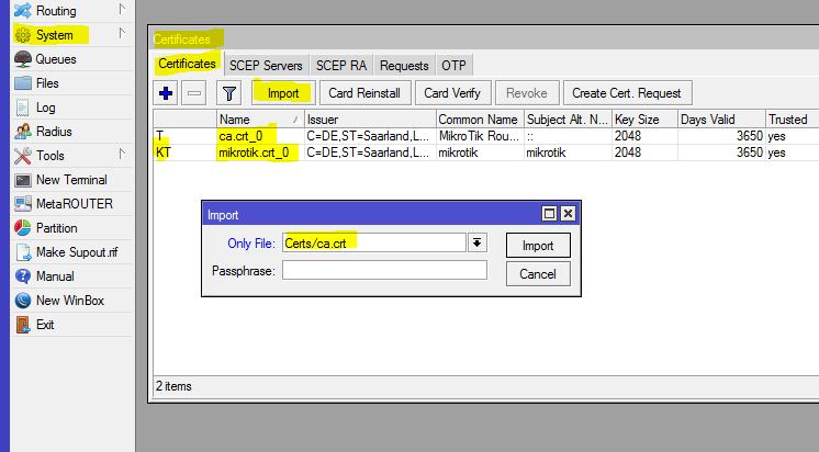 OpenVPN Server unter MikroTik RouterOS | Michael Klehr